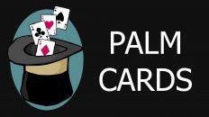 Ảo thuật bài cơ bản – Palm Cards