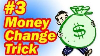 Ảo thuật đơn giản với tiền