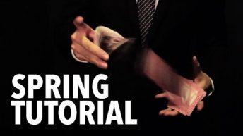 Dạy múa bài: Aerials & Drops – Card Spring