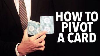 Dạy múa bài: Basics – How to pivot a card