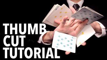 Dạy múa bài: One-handed Cuts – Thumb Cut