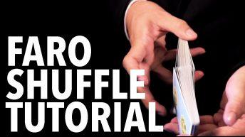Dạy múa bài: Shuffles – Faro Shuffle