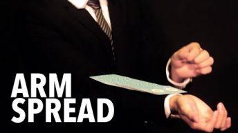Dạy múa bài: Spreads – Arm Spread