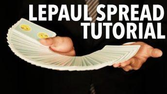 Dạy múa bài: Spreads – Lepaul Spread