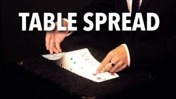 Dạy múa bài: Spreads – Table Spread