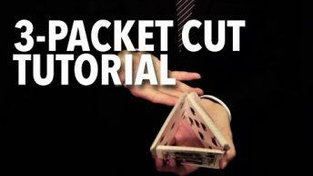 Dạy múa bài: Two-handed Cuts – 3 Packet Cut