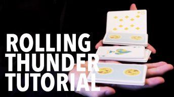 Dạy múa bài: Two-handed Cuts – Rolling Thunder