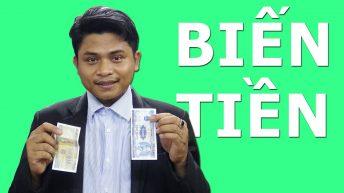 Trò ảo thuật đổi tiền hay nhất thế giới