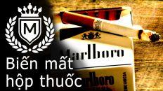 Dụng cụ ảo thuật với điếu thuốc