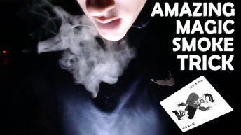 Hướng dẫn cách làm ảo thuật tạo khói ra từ miệng