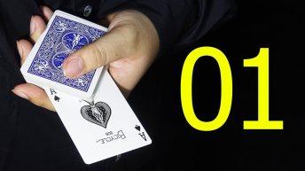 Hướng dẫn chi tiết ảo thuật bài Top Card Cover Pass