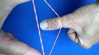 Hướng dẫn ảo thuật dây thun xuyên tay