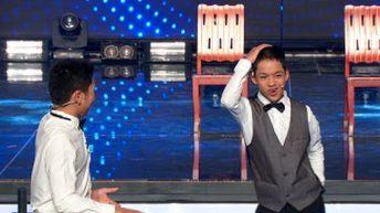 Màn ảo thuật đập đồng hồ giám khảo Trấn Thành cực chất của Văn Lam, Đức Lợi