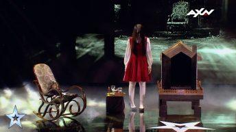 Màn ảo thuật ma ám của cô gái  Riana Semi